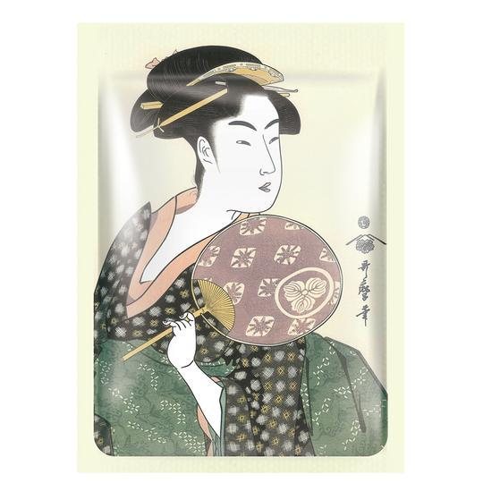 [TKJP00512-06-012]MITOMO JP UKIYOE trial set Type F Face Mask Sheet: 4types 12packs