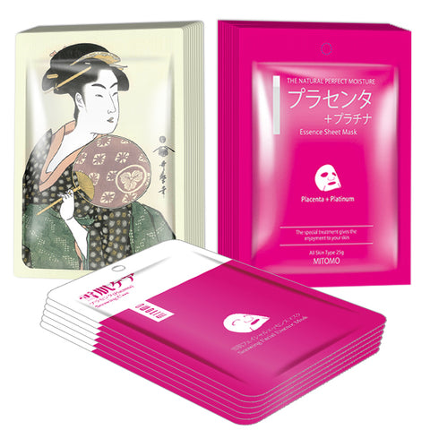 [TKJP00004-A-1]MITOMO Cherry Blossom Pink Edition Royal Jelly&Placenta: 3types 26packs