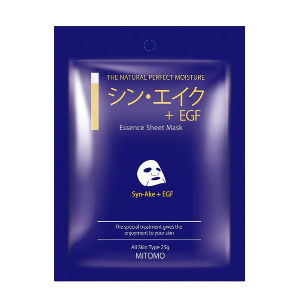 MITOMO Syn-Ake + EGF Snowing Facial Essence Mask MC001-A-3