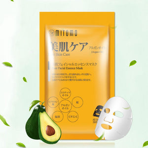 Mitomo Argan Oil Pure Care Facial Essence Mask 36 PCS/Pack MT101-E-5