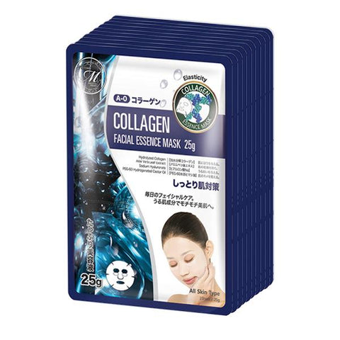 MITOMO Natural Collagen Elasticity Facial Essence Mask MT512-A-0