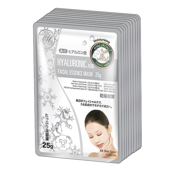 MITOMO Natural Hyaluronic Acid Moisturizing Facial Essence Mask MT512-A-1