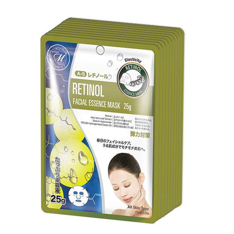 MITOMO Natural Retinol Tightening Facial Essence Mask MT512-A-5