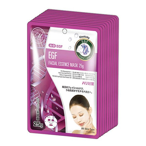 MITOMO Natural EGF Elasticity Facial Essence Mask MT512-A-9