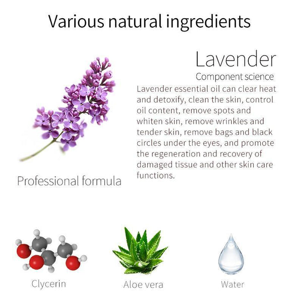 MITOMO Natural Lavender Balancing Facial Essence Mask MT512-D-4