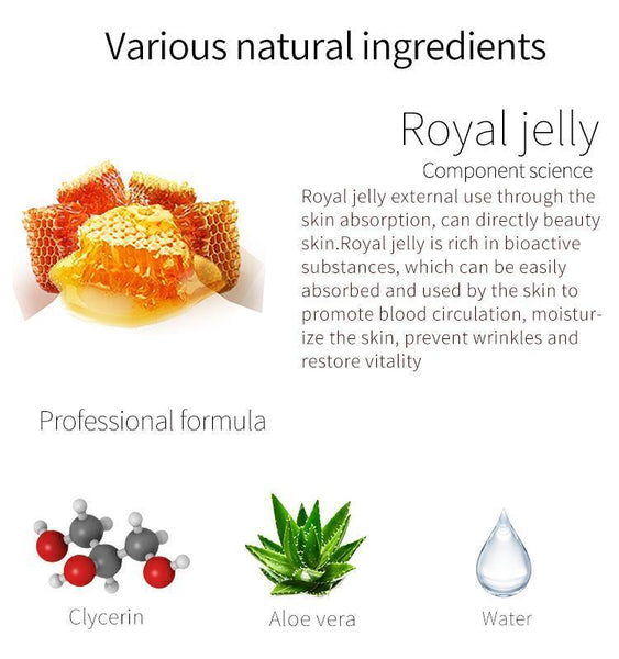 MITOMO Natural Royal Jelly Cleanliness Facial Essence Mask MT512-E-0