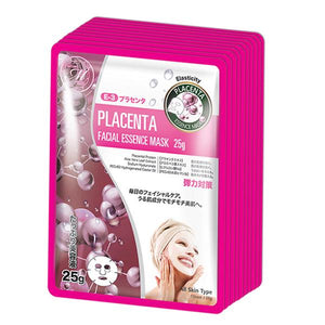 MITOMO Natural Placenta Elasticity Facial Essence Mask MT512-E-3