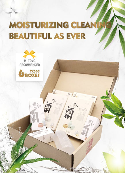 MITOMO Japan Recommended TX005 Series Wholesale Starter Kit Skin Toner(2 boxes) + Serum(2 boxes) + Sheet Mask(2 boxes)[Total 6 Itmes/Box]