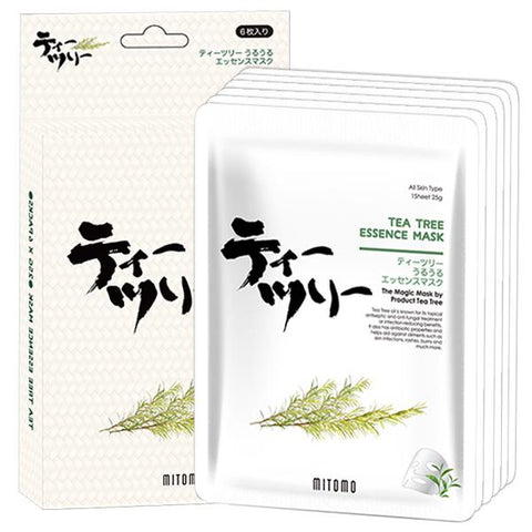 MITOMO Tea Tree Facial Essence Mask JP512-D-1