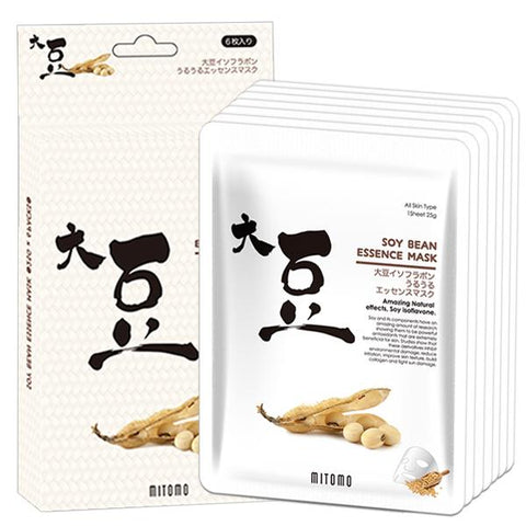 MITOMO Soybean Facial Essence Mask JP512-D-2