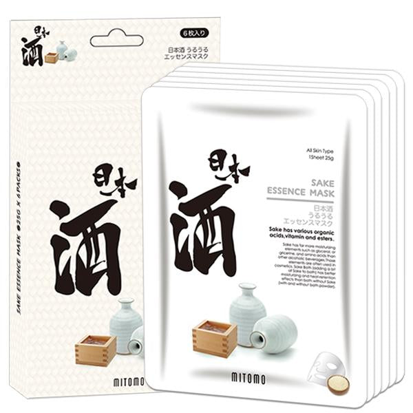 MITOMO Sake Facial Essence Mask JP512-E-5