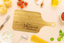 Load image into Gallery viewer, Personalized Chopping Board Custom Cutting Board
