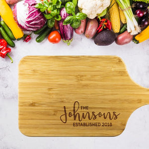 Personalized Chopping Board Custom Cutting Board