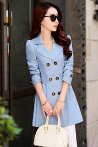 JOI Waist Slimming Trench Coat