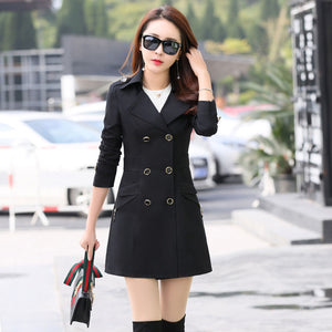 EVIE Slim Trench Coat