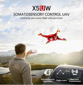 RC Quadcopter Drone With 720P HD Wi-Fi Camera