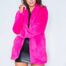 Load image into Gallery viewer, ROXY Faux Fur Coat
