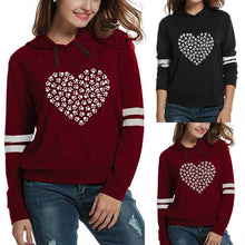 Load image into Gallery viewer, AVA Sweetheart Print Hoodie