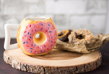 Load image into Gallery viewer, Ceramic Donut Mug
