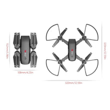 Load image into Gallery viewer, RC Foldable Mini Quadrocopter Drone With Wi-Fi Camera