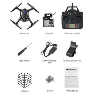 RC Quadrocopter Drone With GPS And 720P HD Wi-Fi Camera