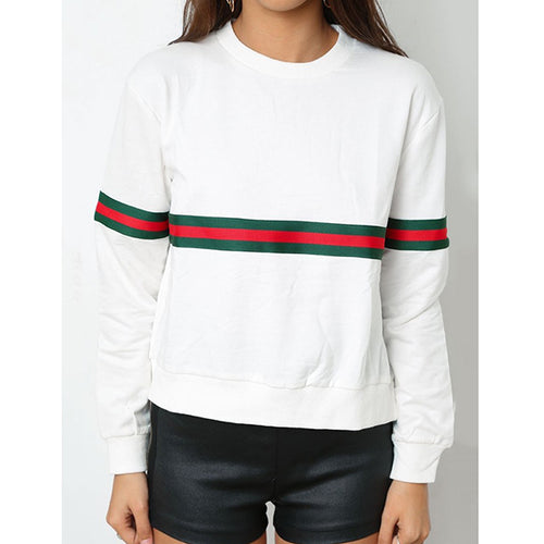 BARDOT Striped Sweatshirt