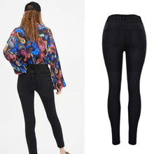 Load image into Gallery viewer, SLATE High Waist Button Fly Skinny Stretch Jeans