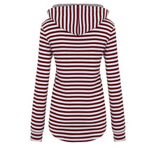 Load image into Gallery viewer, DEXTER Striped Button Sweatshirt
