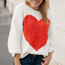 Load image into Gallery viewer, CHLOE Love Heart Knit Sweater