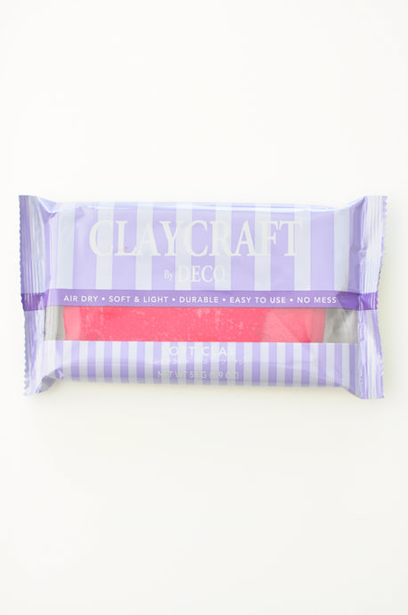 CLAYCRAFT™ by DECO® Soft Clay - Red