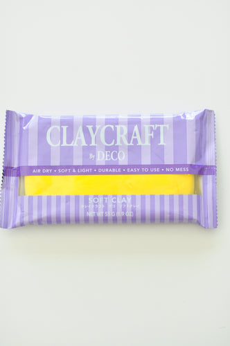 CLAYCRAFT™ by DECO® Soft Clay - Yellow