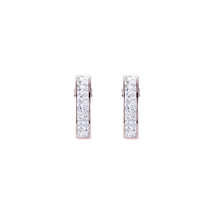 Coeur de Lion Crystal Pave Earrings 0214211800