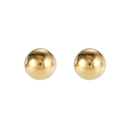 Coeur de Lion Earrings stainless steel ball small gold 0300211600