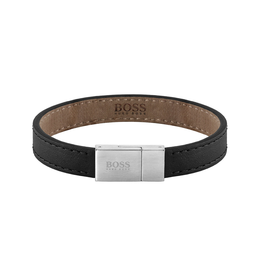 Hugo Boss Leather Essentials Bracelet 1580033M