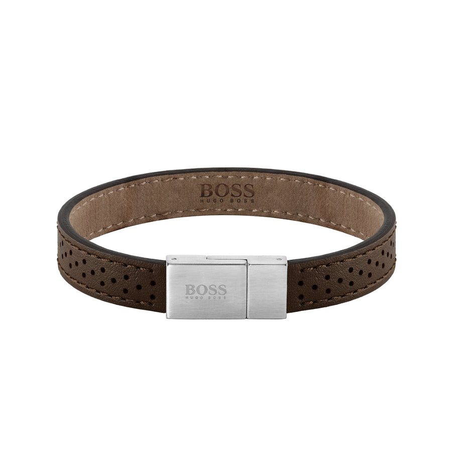 Hugo Boss Leather Essentials Bracelet 1580034M