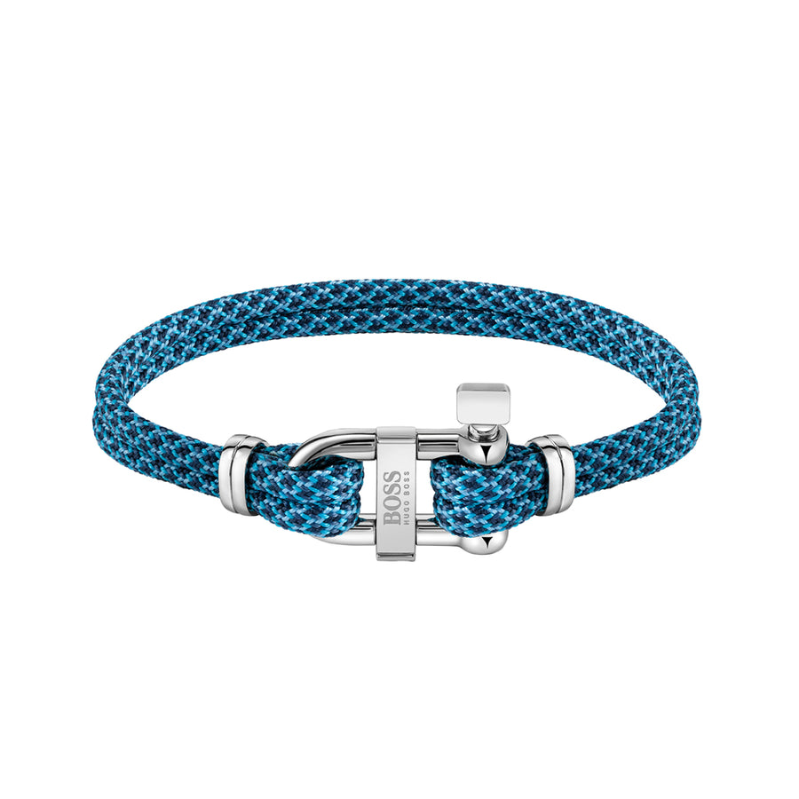 Hugo Boss Blue Sailing Cord Bracelet 1580060M