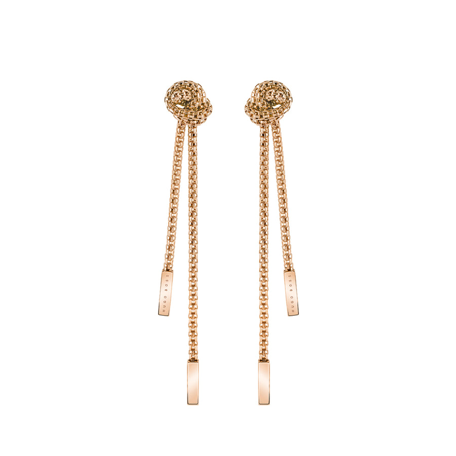 Hugo Boss Rosette Earrings 1580084