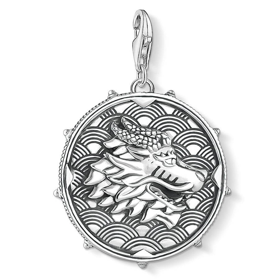 Thomas Sabo Disc Dragon & Tiger Charm 1699-637-21