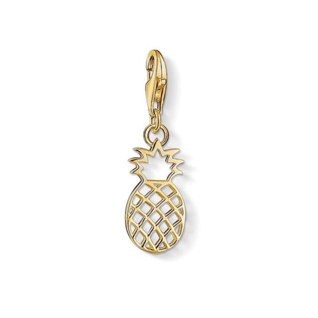 Thomas Sabo Gold Plated Pineapple 1439-413-39