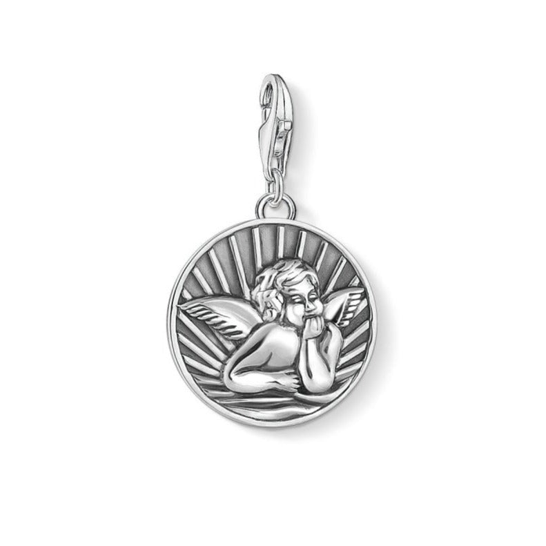Thomas Sabo Disc Guardian Angel Charm 1706-637-21
