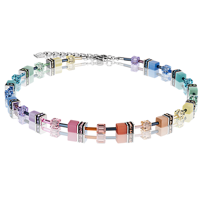 GeoCUBE® Necklace multicolour soft 2838101542