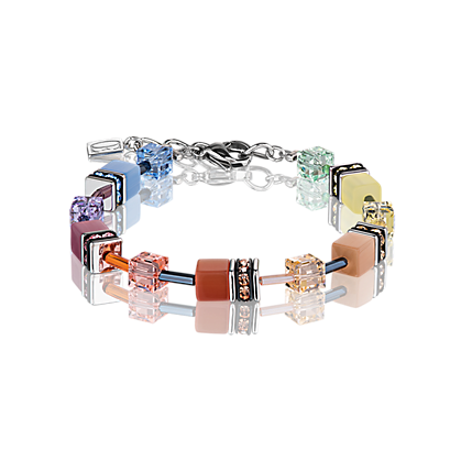 Coeur de Lion GeoCube Soft Colour Bracelet 2838301542