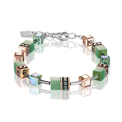 Coeur de Lion Bracelet GeoCUBE® Bracelet light green 4016300520