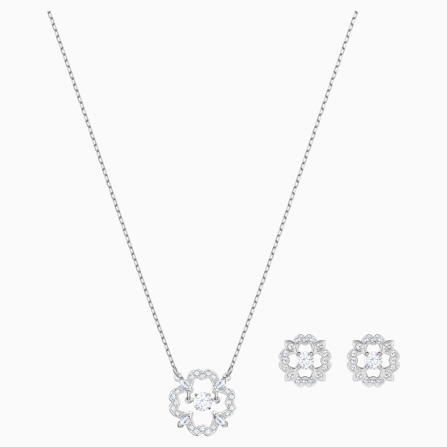 Swarovski Sparkling Necklace and Earring Set 539786