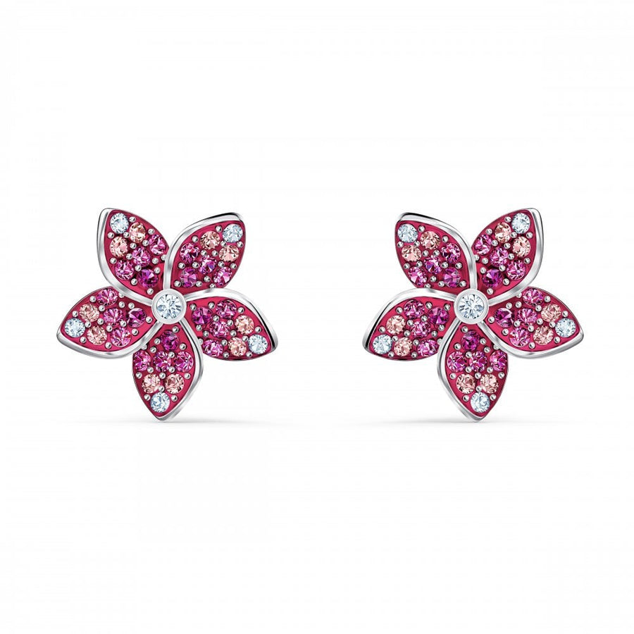 Swarovski Light Multi Coloured Trend Tropical Earrings 5519254