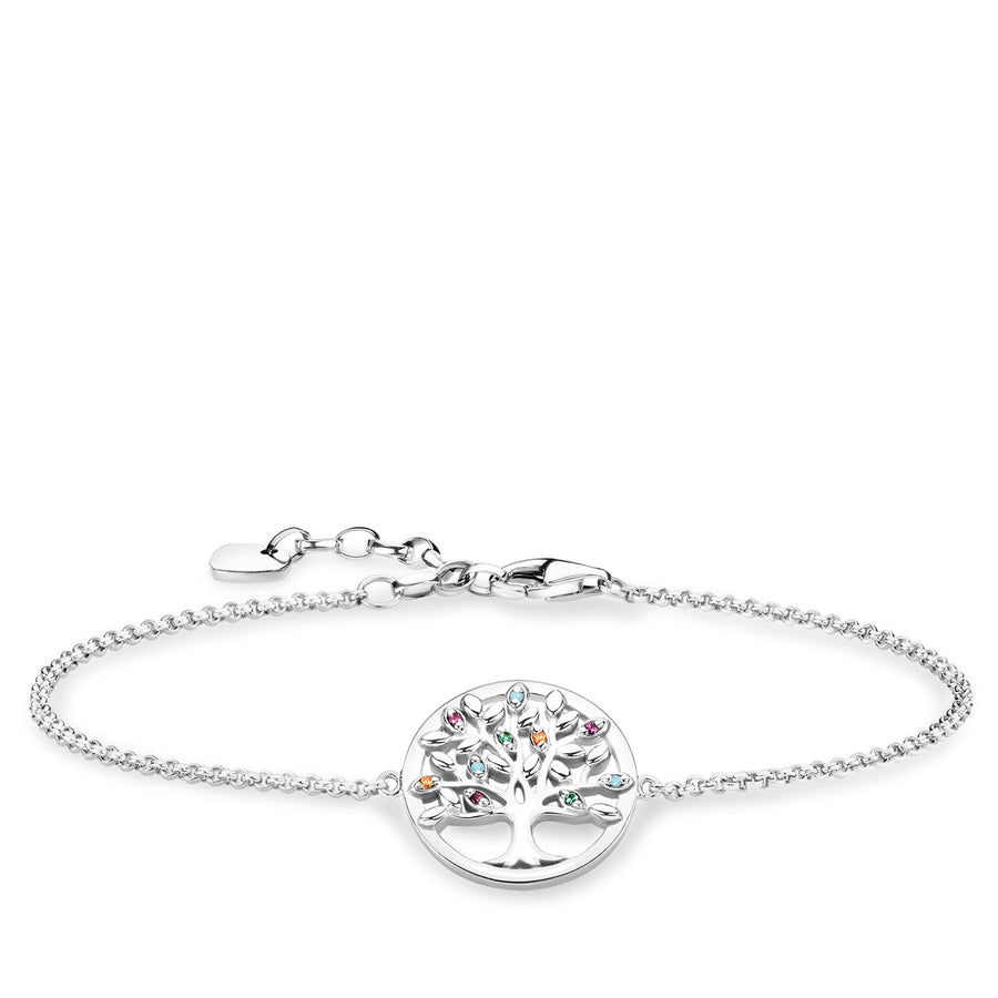 Thomas Sabo Tree of Love Bracelet A1868-477-7-L-19V