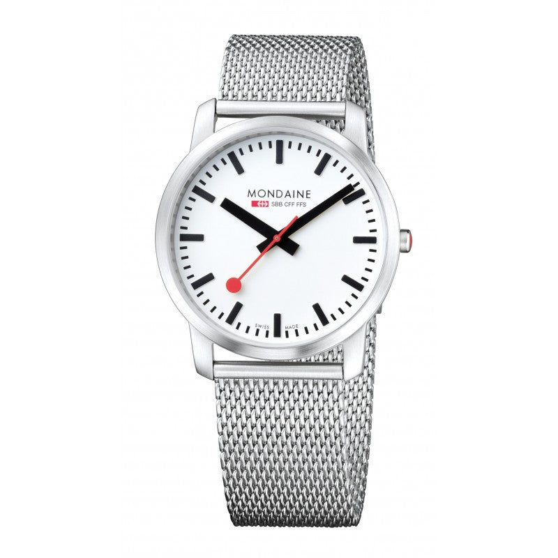 Mondaine Gents Simply Elegant Watch 41mm 6383035016SBM