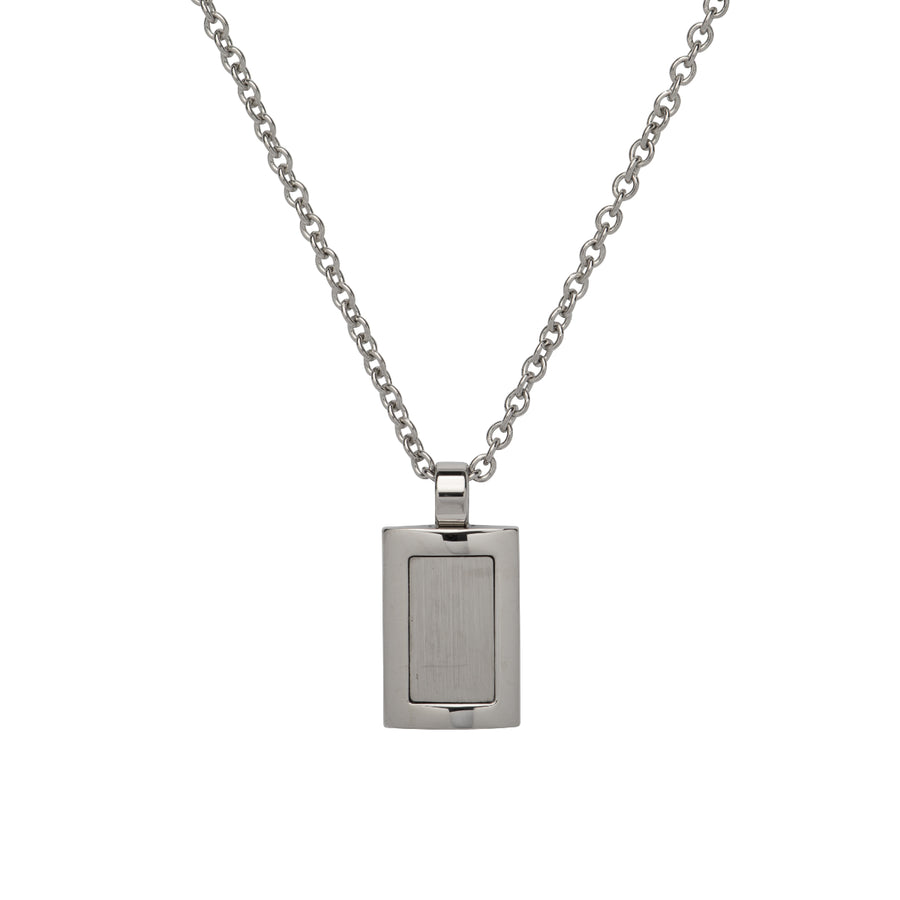 Stainless Steel Pendant incl. Chain AN-96