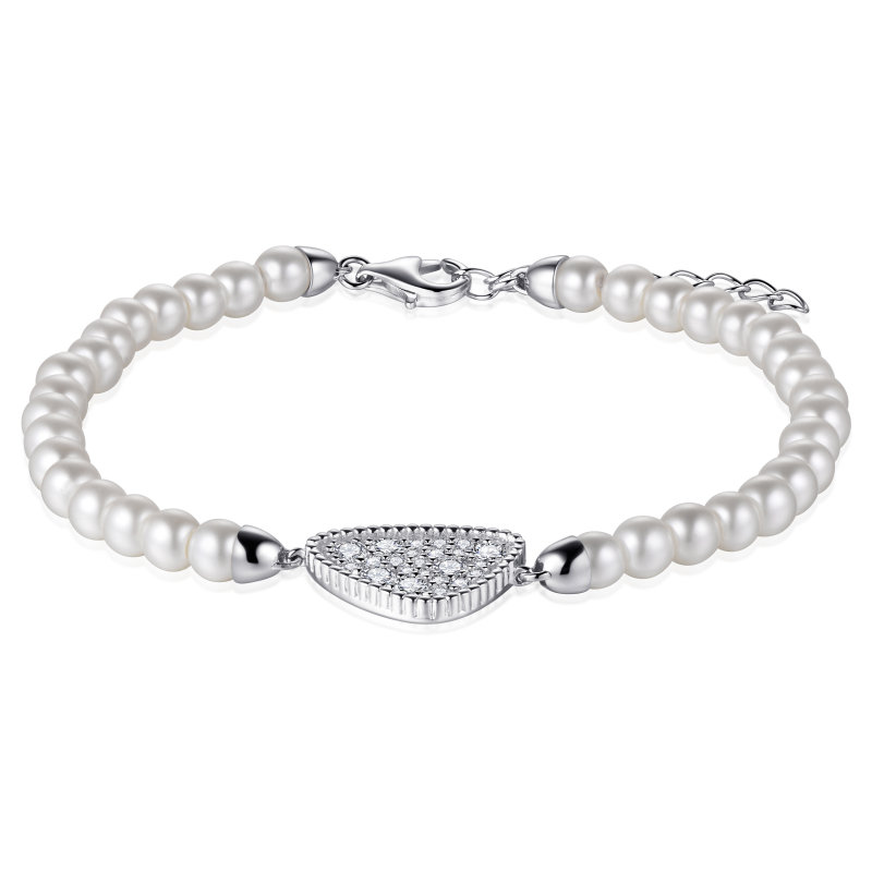 Morgan Banks Silver Bracelet B1012