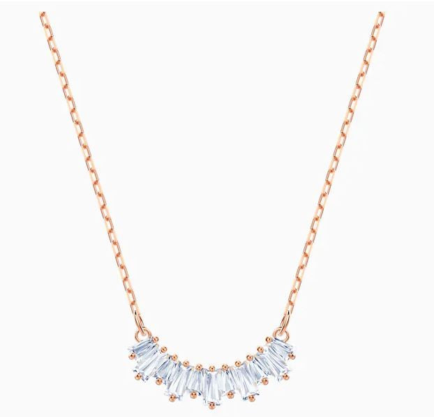 Swarovski Sunshine Necklace Rose gold plated 5459590